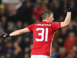 Bastian Schweinsteiger steht im Europa-League-Kader von ManUnited