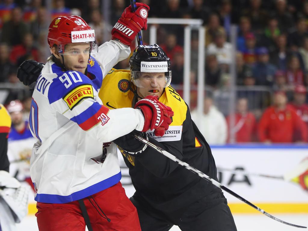 Eishockey-Team kassiert WM-Niederlage gegen Russland