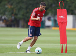 Javi Martínez ist ins Training des FC Bayern zurückgekehrt