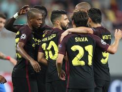 Manchester City feiert einen 5:0-Kantersieg