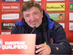 Moldau-Teamchef Igor Dobrovolskiy