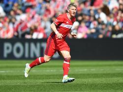 Bastian Schweinsteiger verfolgt seine alte Liebe FC Bayern noch immer