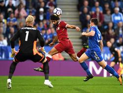 Mohamed Salah erzielte für den FC Liverpool die Führung