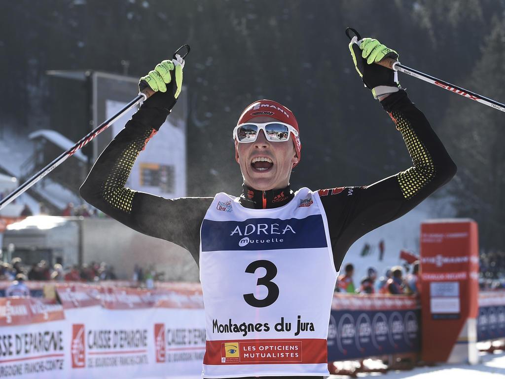 Eric Frenzel gehörte zu den deutschen Top-Stars des Winters