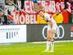 Der VfB Stuttgart hofft auf eine Rückkehr von Kevin Großkreutz im Spiel gegen Werder Bremen
