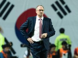 Uli Stielike ist mit seinen Südkoreanern auf WM-Kurs