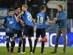 Die TSG 1899 Hoffenheim will auch gegen Frankfurt ungeschlagen bleiben