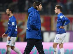 Darmstadt-Coach Torsten Frings haderte nach dem Spiel mit den Schiedsrichtern