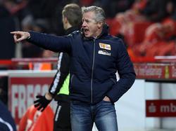 Union Berlins Coach Jens Keller hält den Aufstieg für realistisch