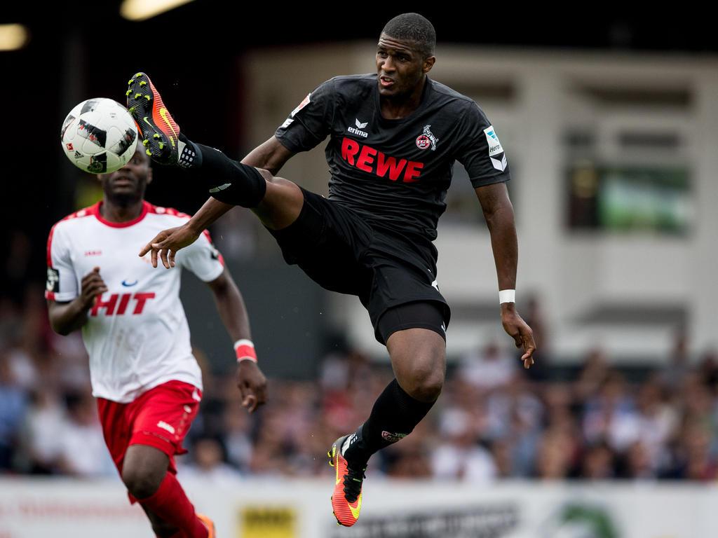 Anthony Modeste bleibt - zumindest vorerst - beim 1. FC Köln