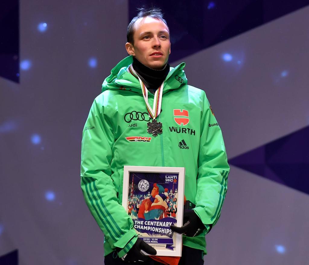 Platz 2: Eric Frenzel (Nordische Kombination)