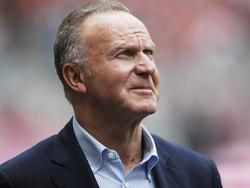 Karl-Heinz Rummenigge hadert offen mit der Schiedsrichterleistung