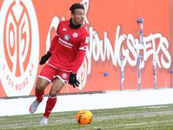 Karim Onisiwo könnte sein erstes Pflichtspiel für Mainz bestreiten