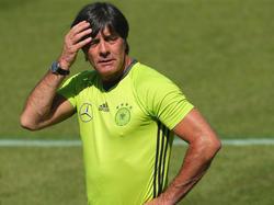 Die Nominierung bereitet Bundestrainer Löw noch Kopfzerbrechen