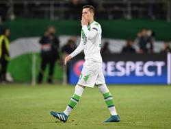 Wagt Julian Draxler bald schon den Abschiedsgruß aus Wolfsburg?
