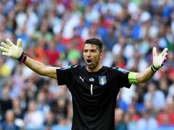 Gianluigi Buffon fehlte beim Training