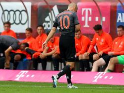 Bitterer Abgang aus Lippstadt: Arjen Robben ist schon wieder verletzt