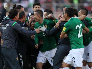 La Verde se mantiene, luego de la decisión del TAS, penúltima de las Eliminatorias. (Foto: Getty)