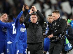 Leicester-Coach Craig Shakespeare führte sein Team zum Sieg gegen Sevilla
