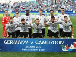 Die 11 gegen Kamerun