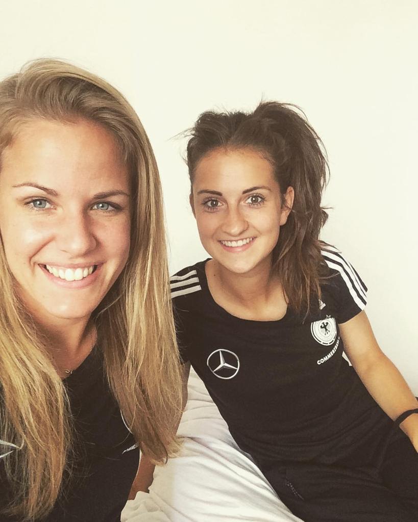 Lena Petermann und Sara Däbritz - Deutschland