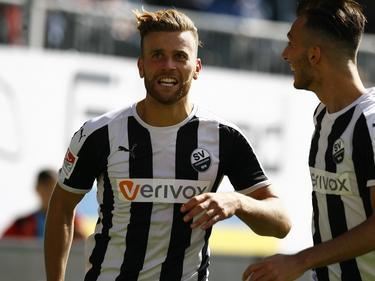 Lucas Höler erzielte gegen Regensburg beide Treffer