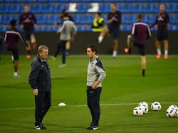 Englands Trainer Roy Hodgson wird seine Spieler für einen kurzen Lehrgang versammeln