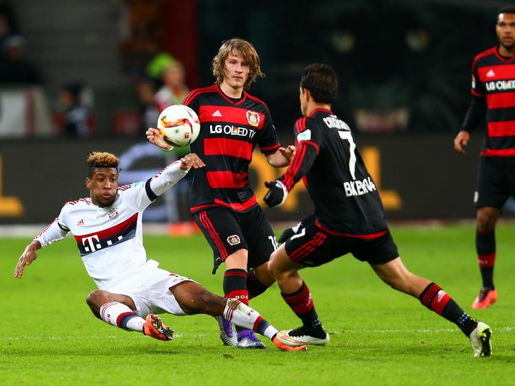 Die Bayern bissen sich an bissigen Leverkusenern die Zähne aus