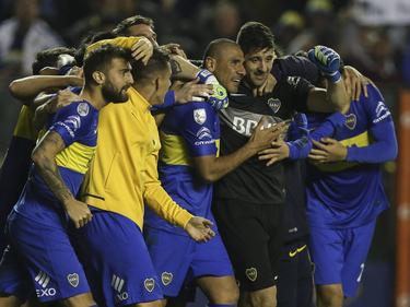 Agustín Orión paró tres penales para salvar a 'su ' Boca. (Foto: Imago)