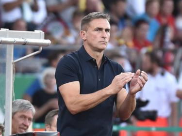 Stefan Kuntz feiert einen gelungenen Einstand als Trainer der deutschen U21