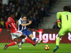 Jota brachte Porto in Führung, doch am Ende glich Benfica aus
