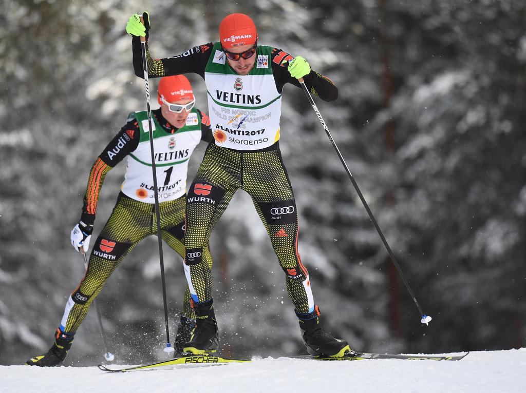 Frenzel und Rydzek nach Kombinierer-Springen in Top Ten