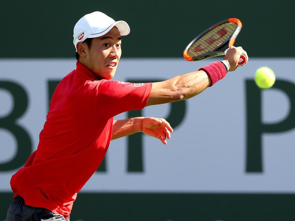 Platz 9 (-): Kei Nishikori - 3285 Punkte