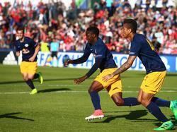 Die U19 von RB Salzburg jubelt über den Titel in der UEFA Youth League