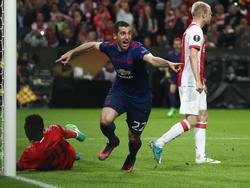 Mkhitaryan erzielte das zweite Tor für Manchester United