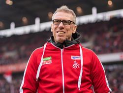 Peter Stöger blickt optimistisch in die FC-Zukunft