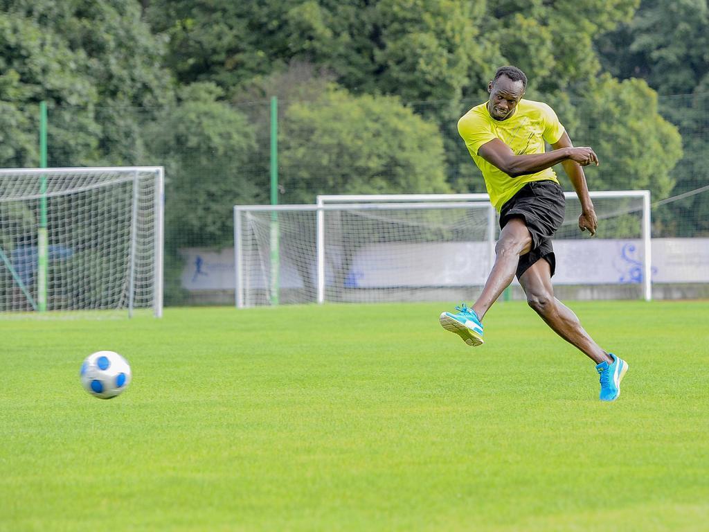 Usain Bolt (vereinslos)