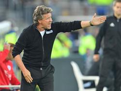 Jeff Saibene steht mit Arminia Bielefeld überraschend auf Rang eins