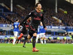 Mesut Özil erzielte das zwischenzeitliche 2:1 für Arsenal