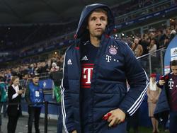 Thomas Müller fällt in den Spielen gegen RB Leipzig offenbar aus