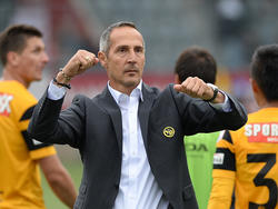 Adi Hütter hat bei den Young Boys Bern voll eingeschlagen