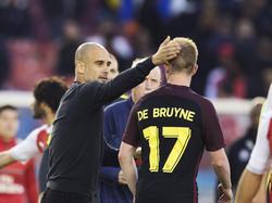 Hace poco, Pep Guardiola comparó a De Bruyne con Messi. (Foto: Getty)