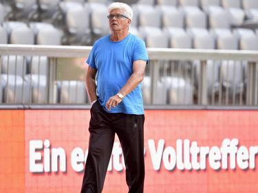 Werner Lorant trainiert das viertklassige Union Hallein