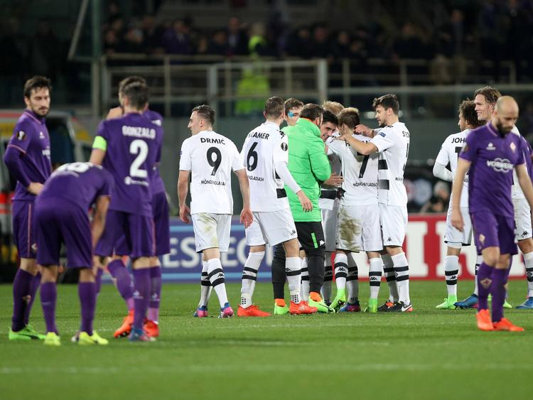 Gladbach drehte in Florenz ein verloren geglaubtes Spiel