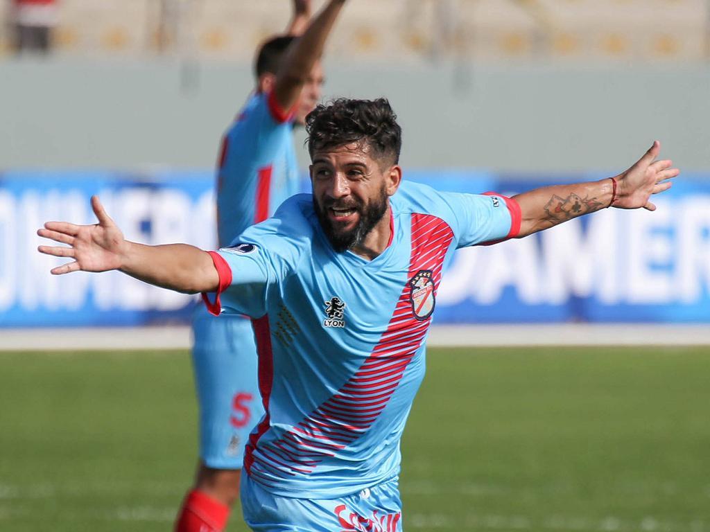 Wilchez marcó para el Arsenal en la Copa Sudamericana. (Foto: Imago)