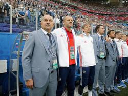 Das russische Trainerteam muss die Mannschaft auf Portugal vorbereiten