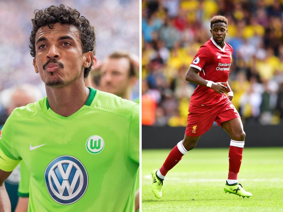 VfL Wolfsburg: Top-Abgang: Luiz Gustavo; Top-Zugang: Divock Origi
