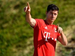 Begehrt: Bayern-Torjäger Robert Lewandowski