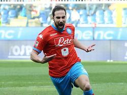 Napoli-Torjäger Gonzalo Higuaín durfte auch bei Sampdoria jubeln