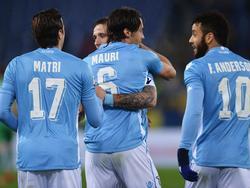 Die Lazio-Spieler können wieder jubeln